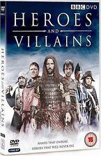 HEROES AND VILLAINS ANTHONY FLANAGAN RORY McCANN STEVE WADDINGTON BBC UK DVD NEW