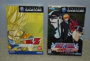GameCube DRAGON BALL Z & BLEACH GC Tasogare ni Mamieru Shinigami 2pcs Japan JUMP