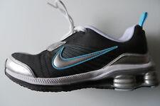 NIKE SHOX ZIPSISTER 37,5,SPORTSCHUHE UK 4,Schuhe 6,5 schwarz silber,S-L 23,5 c m
