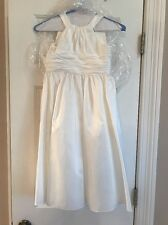 Davids Bridal Ivory Flower Girl Dress Or Special Occasion Church Dress, Size 5