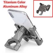 CNC Aluminum Motorcycle MTB Handlebar Mount GPS Phone Holder Bracket Titanium