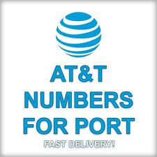 At&T Phone Numbers to Port for Any Zip Area Code Fast Bundles Bulk Prepaid Att