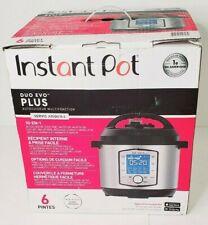 Original Instant Pot - Duo Evo Plus 6-Quart New,  Pressure Cooker.