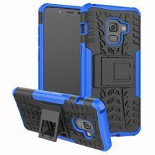 Carcasa híbrida 2 piezas exterior bolsa azul Funda para Samsung Galaxy A8 A530