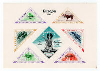 (I.B) Cinderella Collection : Lundy Europa 1961 (proof sheet)