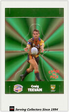1997 Dynamic Rugby League POP-UP CARDS Team Sets-STH QLD CRUSHERS(1)