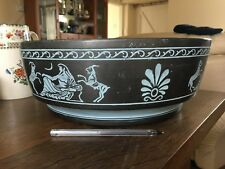 Large Black Bowl / Dish by ROGILD of Denmark No 216