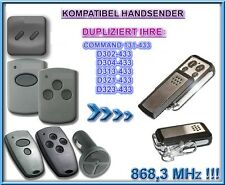 Digital 302 / 304 433,92Mhz Kompatibel Handsender, Klone (NOT MADE BY MARANTEC)