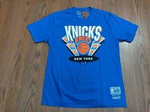 NWT MITCHELL & NESS NEW YORK KNICKS DNA t shirt sz LG