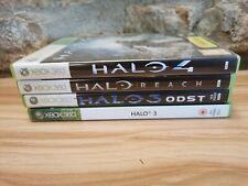 Halo Bundle 3 4 Reach ODST - 4 Game Bundle - Xbox 360