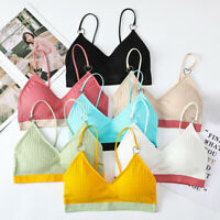 Candy Color Push Up Women Bra Fitness Bralette Top Padded Brassiere Bra TopTECA