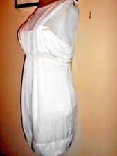 CUE ivory DRESS size 14 NEW&tags $94.50 evening occasion party club sleeveless