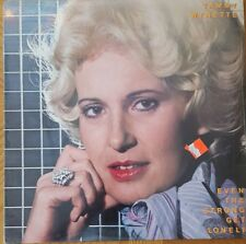 TAMMY WYNETTE Even The Strong Get Lonely LP VINYL UK Epic 1983 10 Track B