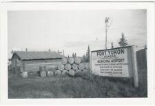 1950s Fort Yukon Alaska Territory Municipal Airport Snapshot