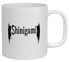 Shinigami God of Death Japanese White 10oz Novelty Gift Mug Cup
