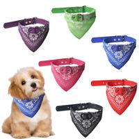 Cute Adjustable Pet Dog Puppy Cat Neck Scarf Tie Neckerchief Triangle Bandana
