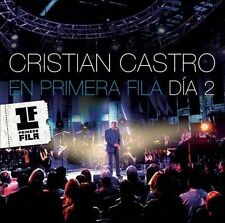 En Primera Fila: Día 2 by Cristian Castro (CD, Apr-2014, Sony Music Latin) NEW