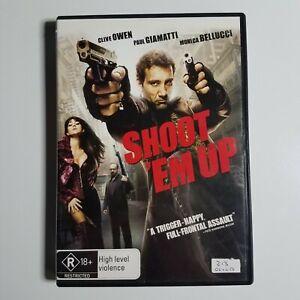 Shoot 'Em Up   DVD Movie   2007   Action/Thriller   Clive Owen, Monica Bellucci