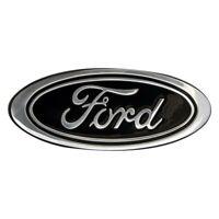 """DefenderWorx 901464 """"Ford"""" Oval Black Grille or Tailgate Emblem"""