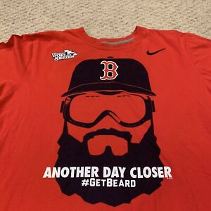 Boston Red Sox 2013 World Series Another Day Closer Nike T Shirt Mens XL