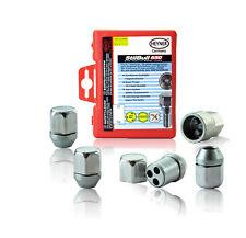 Fits Infiniti Q50 2013-on Locking Wheel nuts M12x1,25 Anti-theft For Alloys