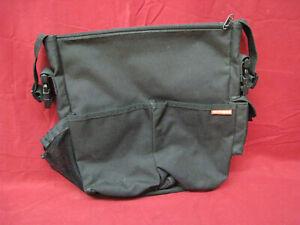 Skip Hop black Diaper Bag with Shoulder Strap