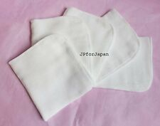 100 Cotton Muslin Flannel Face Cloths Facial Cleanser X 5 Made in UK Cleansing
