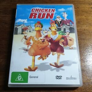 Chicken Run DVD R4 Like New! FREE POST