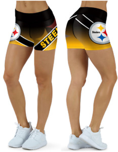 Pittsburgh Steelers Small to 2XL Women's Shorts