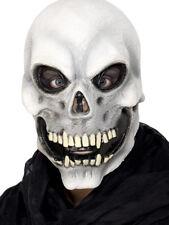 Scheletro Teschio Maschera Intera Adulti Accessorio Costume Di Halloween