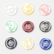 Buttons 2 Hole Easy Match  2 Tone 10 Shades  4 Sizes 18 24 28 and 32 Per 10