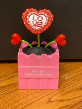 2021 Solar Powered Dancing Toy New - VALENTINE'S DAY Dancing Flower - RED HEART