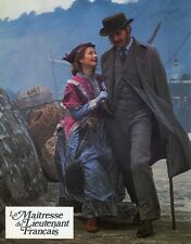JEREMY IRONS THE FRENCH LIEUTENANT'S WOMAN 1981 LOBBY CARD #12
