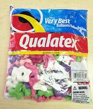 "Qualatex 6"" Geo Blossom Balloon 100 ct., Pastel Assortment"