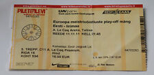 OLD TICKET EURO 2012 play-off * Estonia - Republic of Ireland in Tallinn