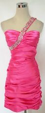 NWT CITY TRIANGLES $90 Pink Prom Party Dance Dress 11