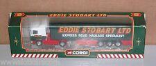 Corgi Toys 59503 Camion Scania curtainside semi Eddie Stobart Neuf Boite (# A8)