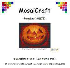 MosaiCraft Pixel Craft Mosaic Art Kit 'Pumpkin' Halloween Pixelhobby
