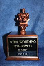 Fantasy Armchair Baseball Player 18 Yr. Perpetual Trophy. Free Engraving!