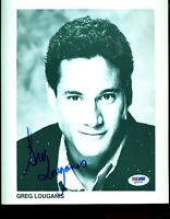 GREG LOUGANIS SIGNED PSA/DNA 8X10 PHOTO CERTIFIED AUTOGRAPH