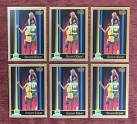 Lot of (6) 1990-91 SkyBox SHAWN KEMP Rookie Card #268 RC Seattle Supersonics🔥