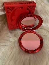 Mac Lucky Red Powder Blush Duo Melba Lovecloud