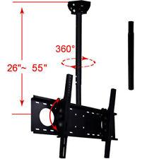 """Tilt Ceiling Mount 39"""" 40 42 43 46 48 50 55 60 65"""" LCD LED Plasma TV Bracket 1UO"""