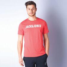 Magliette da uomo rossi JACK & JONES taglia M