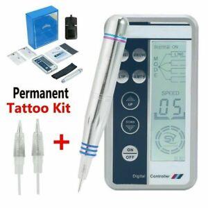 Microblading Permanent Makeup Eyebrow Tattoo Digital Charmant Embroider Machine-