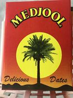 aCalifornia Medjool Dates grown in Mecca, California- 10LB BOX September 2020 -