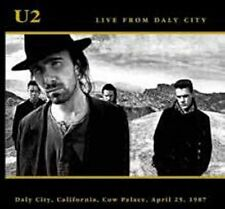U2 LIVE FROM DALY CITY 2CD California Cow Palace USA April 25 1987 +3 Bonus RARE