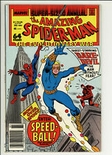 Spiderman Annual 22 - 1st Speedball - High Grade 9.6 NM+