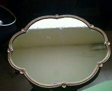 Vintage scallop shape  mirror