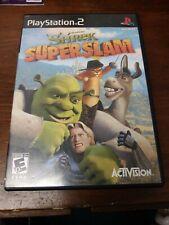 Shrek SuperSlam (Sony PlayStation 2, Ps2) Black Label